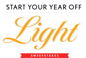 Cooking Light Sweepstakes - cooking light quot start your year off light quot sweepstakes win 1 000