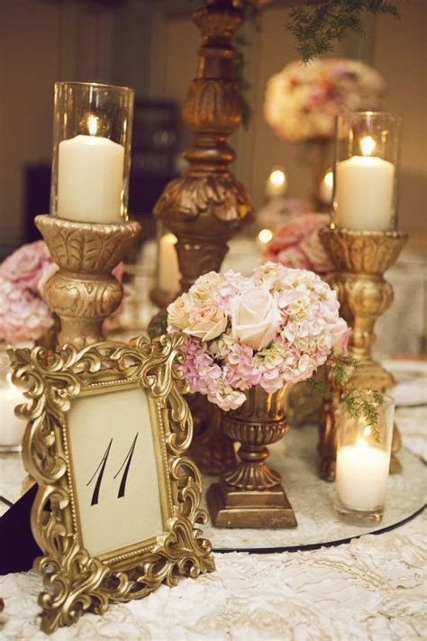 victorian centerpieces with candles   Google Search   My