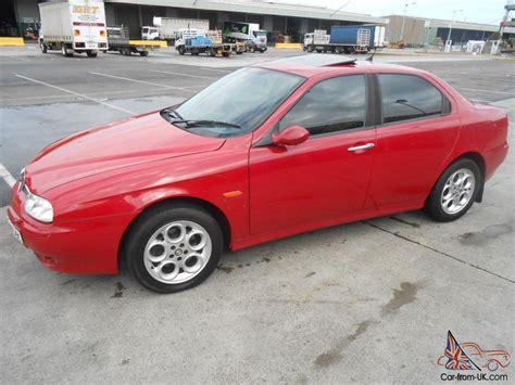 Alfa Romeo 156 Jts 2002 4d Sedan 5 Sp Manual 2l Multi