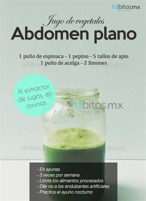 Plano Detox by Salud Smoothie And Abdomen Plano On