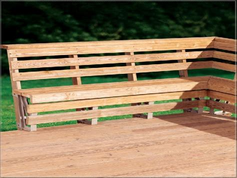 how to build a bench on a deck deck bench seat with back plans decks pinterest deck