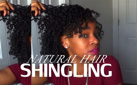 how to shingle natural hair natural hair shingling youtube