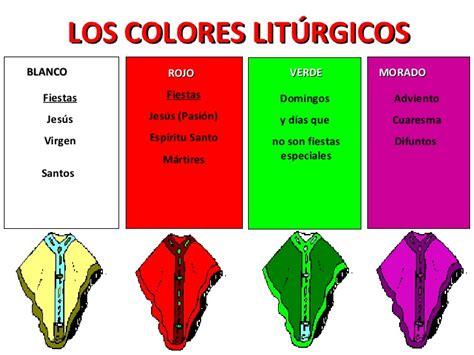 colores del ano liturgico fotos de los colores del a 241 o liturgico imagui