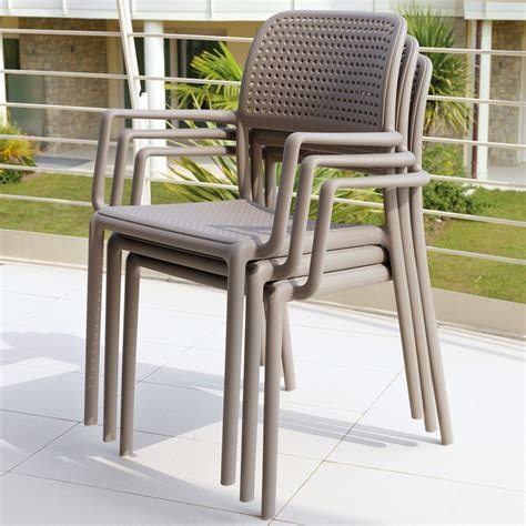 sedia da giardino sedia da giardino ed esterno con braccioli bora nardi