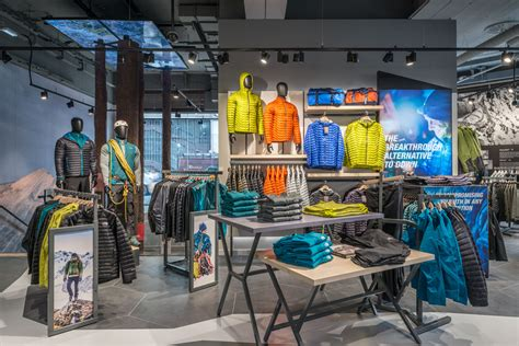 north face outdoors brand embraces nature with new store
