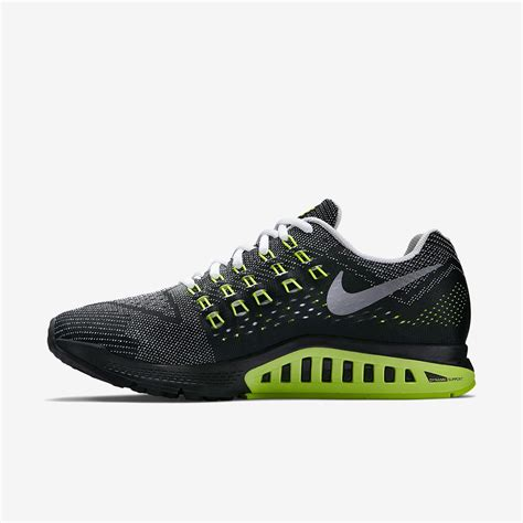 nike mens wide running shoes nike mens air zoom structure 18 wide fit running shoes