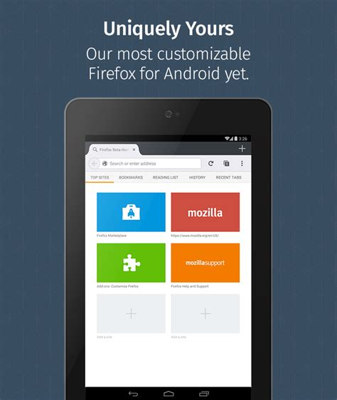 mozilla firefox for android firefox for android beta android apps on play