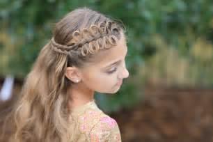 Bow braids cute girls hairstyles globezhair