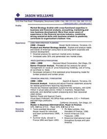 sample resume free resumes easyjob samples amp writing guides for all