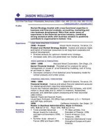 Sample Resume Templates Sample Resume 85 Free Sample Resumes By Easyjob Sample