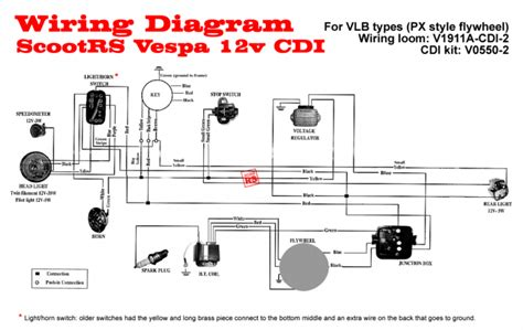 vespa px indicator wiring diagram wiring diagram
