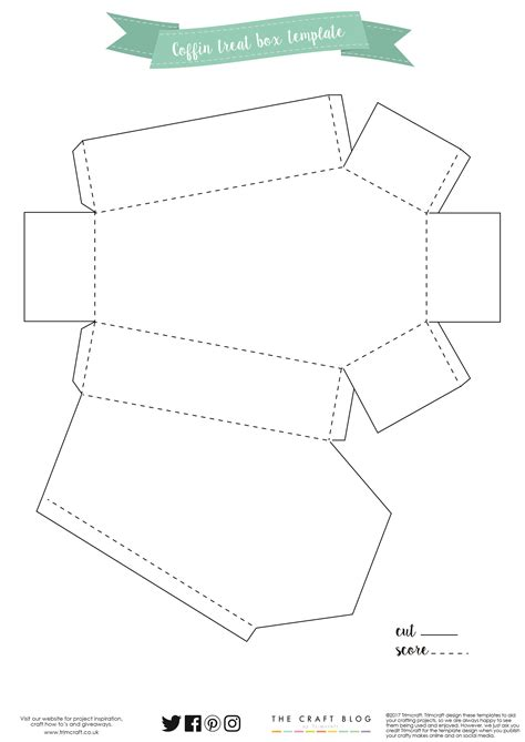 coffin card template your free coffin box template here cricut