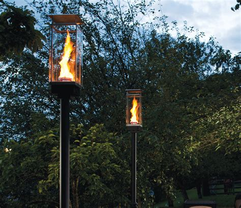 backyard torches lanterns patio torches canada modern patio outdoor