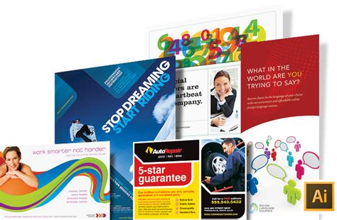adobe illustrator brochure templates adobe illustrator templates graphic designs ideas
