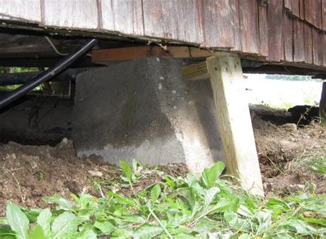 Cottage Foundation by Foundation Heaving