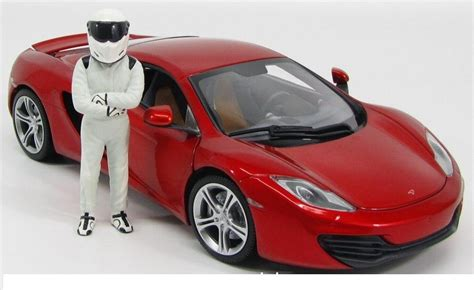 mclaren mp4 12c top gear miniatura mclaren mp4 12c top gear figura stig