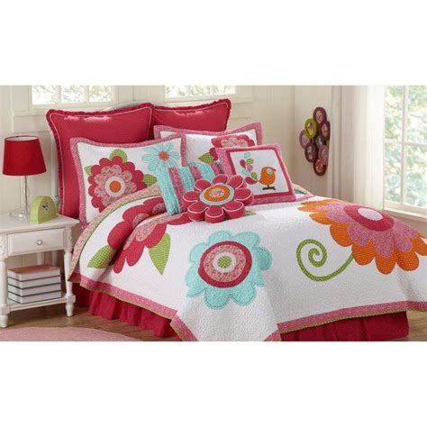 bed bath and beyond girls bedding lindsey quilt bed bath beyond cute big flowers