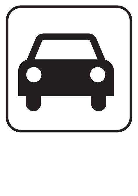 Auto Zeichen by Clip Car Parking Clipart Best