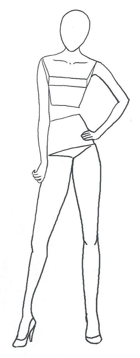 Fashion Figure Templates my road to becoming a fashion designer free fashion figure templates are here