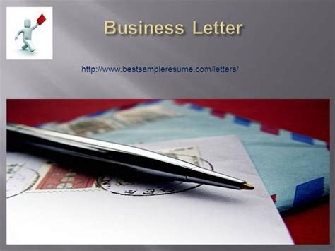 business letter ppt business letter writing tips authorstream