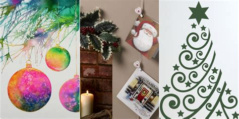 christmas wall decorating ideas julia kendell s top tips 3 ways to decorate your walls