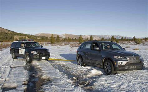 bmw x5 snow 2009 bmw x5 xdrive 35d stuck in snow photo 3