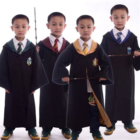 even students description new subscribers 1 films watch newest was kids harry potter robe with necktie gryffindor hufflepuff