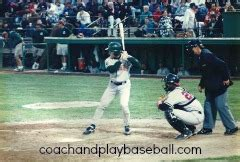 what does a baseball bench coach do your baseball hitting life span in the game depends on