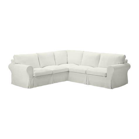ektorp corner sofa 2 2 slipcover sten 229 sa white ikea