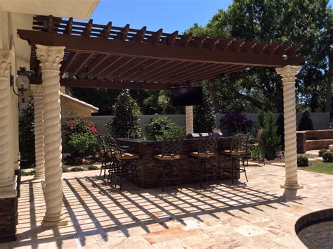 Patio Pergola by Pool Patio Design Inc Pergola Gallery Pompano Fl