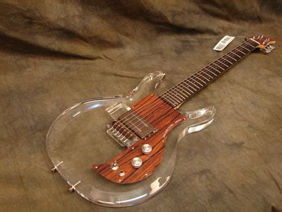 Cheap 3 Gitar Dan Bass Biru eg dan armstrong acrylic guitar image 123558