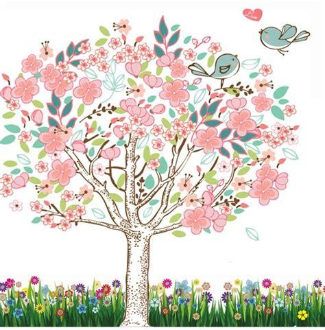 Family Tree Wall Mural online toptan al m yap n pembe yatak odas tasar mlar 199 in