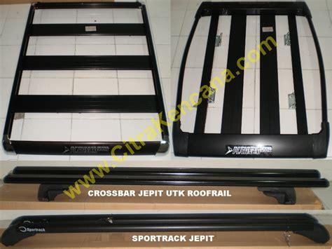 Paket Accossato Universal Hitam 2 jual paket roofrack sportrack crossbar citra kencana
