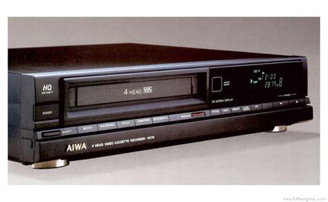 aiwa cassette aiwa hv 70 manual vhs cassette recorder hifi