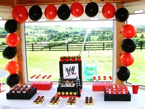 party themes cool 20 cool wwe birthday party ideas buzz 2018
