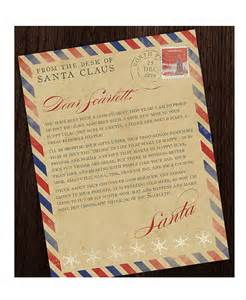 vintage letter template santa letter template 9 free word pdf psd documents