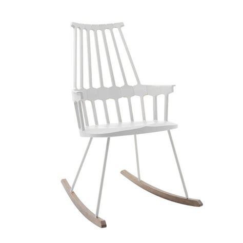 sedia a dondolo design comback 5956 sedia a dondolo kartell di design in legno