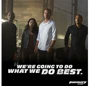 Fast And Furious 7 Quotes About Family QuotesGram