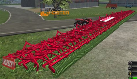 Large Ls Fs 2011 Horsch Cultivator 164 V Cultivators