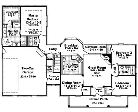 horseshoe house plans horseshoe ridge plantation home plan 077d 0166 house plans and more