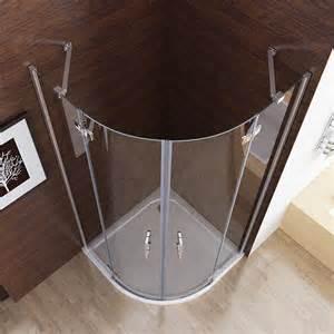 dusche 90x90 duschkabine runddusche duschabtrennung dusche echtglas