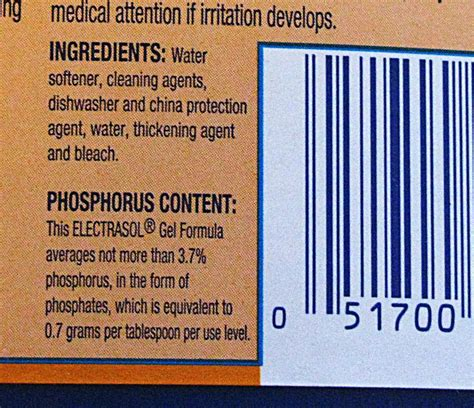Product Label how to read a cleaning product label
