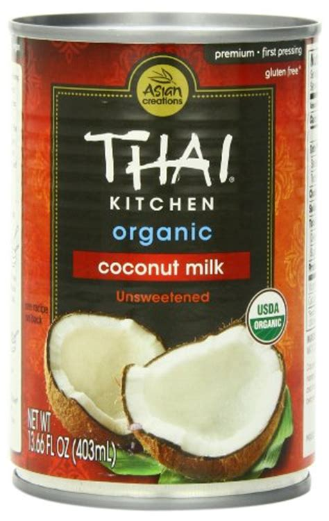 thai kitchen organic coconut milk 13 66 ounce cans pack