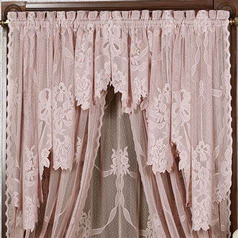 Bathroom Valance Curtains 63 Inch Swag Curtains Swag Curtains For Bathroom Swag Valance Valances For Living Room Only Swag