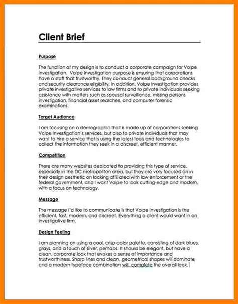 Resume Summary Statement Examples by 5 Client Brief Example Reporter Resumes