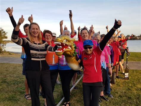 dragon boat illawarra cunningham community groups share in 93 000 illawarra