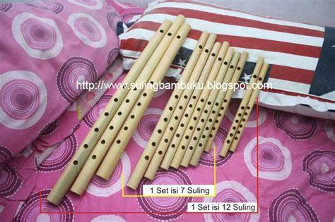 Suling Bambu Asli Bisa Bunyi alat musik jawa suling bambu dangdut set