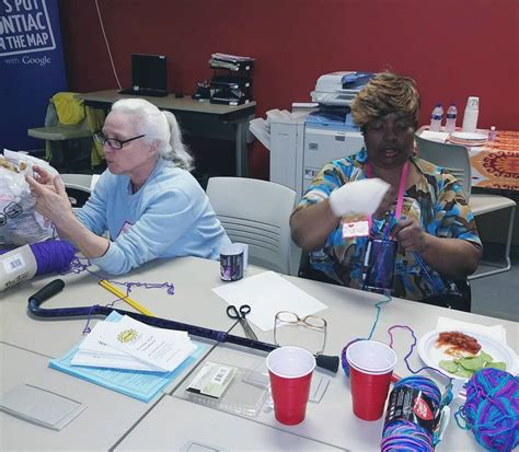 knitting classes member led classes pontiacsun org strong united neighbors