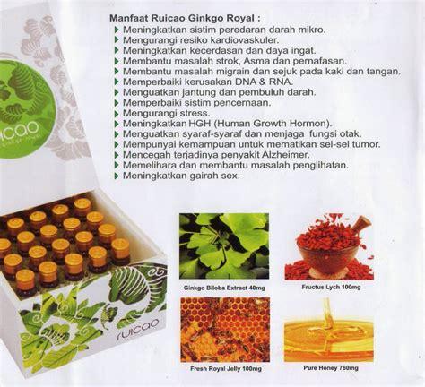 Ruicao Ginseng Royal keajaiban produk ruicao dari mygoldenduck produsen
