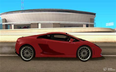 Lamborghini Gallardo Lp550 by Lamborghini Gallardo Lp550 Valentino Balboni For Gta San